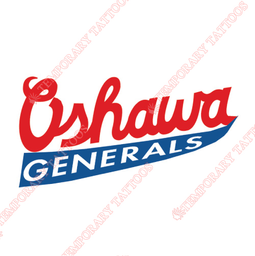 Oshawa Generals Customize Temporary Tattoos Stickers NO.7361