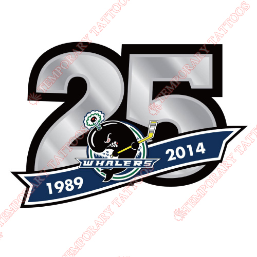 Plymouth Whalers Customize Temporary Tattoos Stickers NO.7379