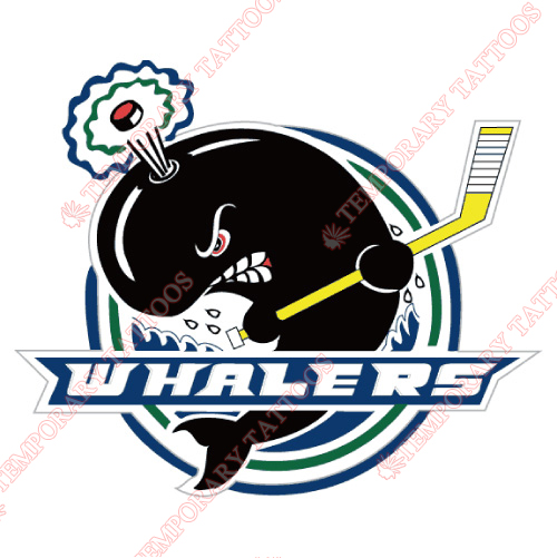 Plymouth Whalers Customize Temporary Tattoos Stickers NO.7380