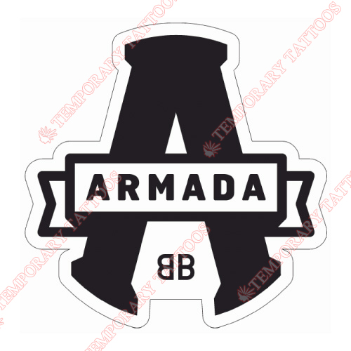 Blainville-Boisbriand Armada Customize Temporary Tattoos Stickers NO.7411