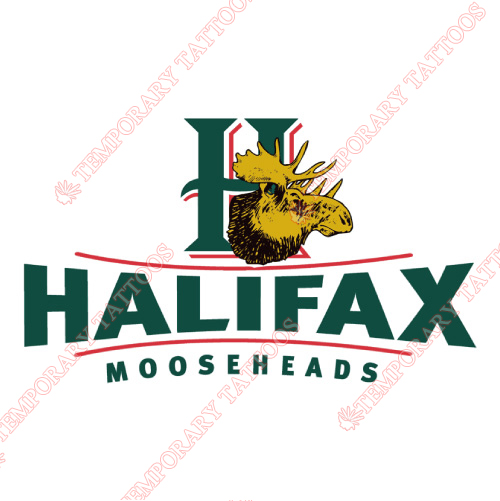 Halifax Mooseheads Customize Temporary Tattoos Stickers NO.7430