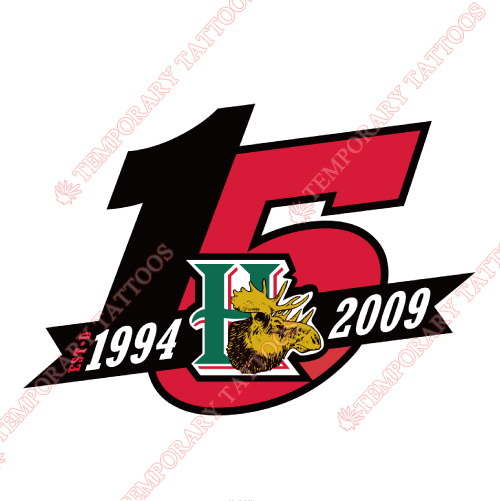 Halifax Mooseheads Customize Temporary Tattoos Stickers NO.7431