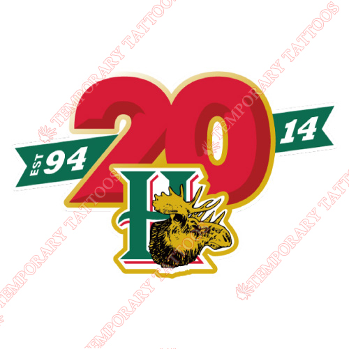 Halifax Mooseheads Customize Temporary Tattoos Stickers NO.7432