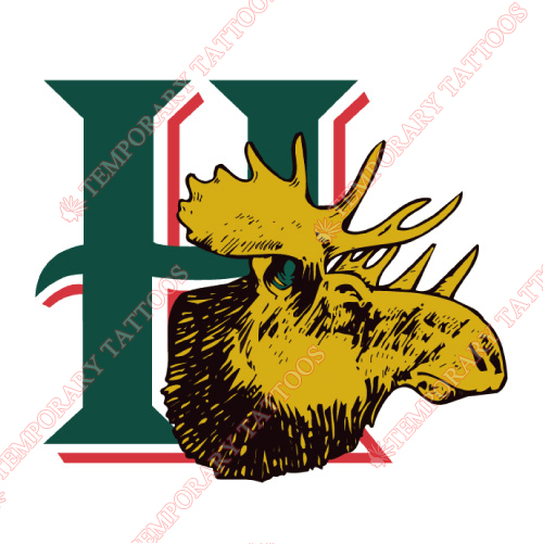 Halifax Mooseheads Customize Temporary Tattoos Stickers NO.7435