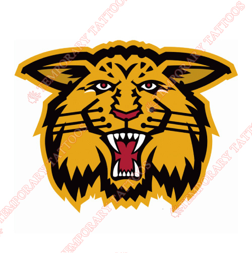 Moncton Wildcats Customize Temporary Tattoos Stickers NO.7436