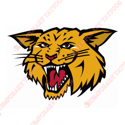 Moncton Wildcats Customize Temporary Tattoos Stickers NO.7437