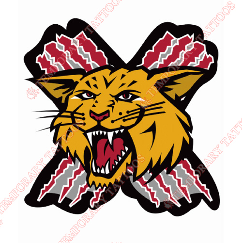 Moncton Wildcats Customize Temporary Tattoos Stickers NO.7438