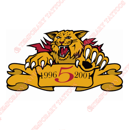 Moncton Wildcats Customize Temporary Tattoos Stickers NO.7439