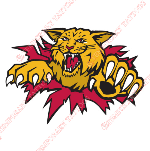 Moncton Wildcats Customize Temporary Tattoos Stickers NO.7441