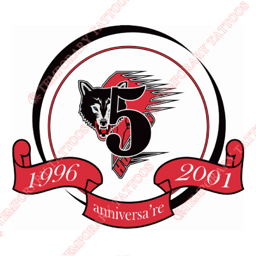 Rouyn-Noranda Huskies Customize Temporary Tattoos Stickers NO.7458