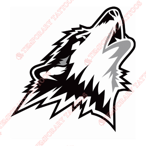 Rouyn-Noranda Huskies Customize Temporary Tattoos Stickers NO.7459