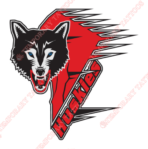 Rouyn-Noranda Huskies Customize Temporary Tattoos Stickers NO.7462
