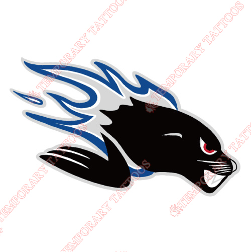 Saint John Sea Dogs Customize Temporary Tattoos Stickers NO.7465
