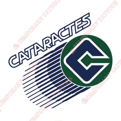 Shawinigan Cataractes Customize Temporary Tattoos Stickers NO.7470