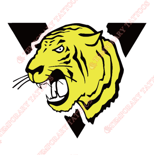 Victoriaville Tigres Customize Temporary Tattoos Stickers NO.7483