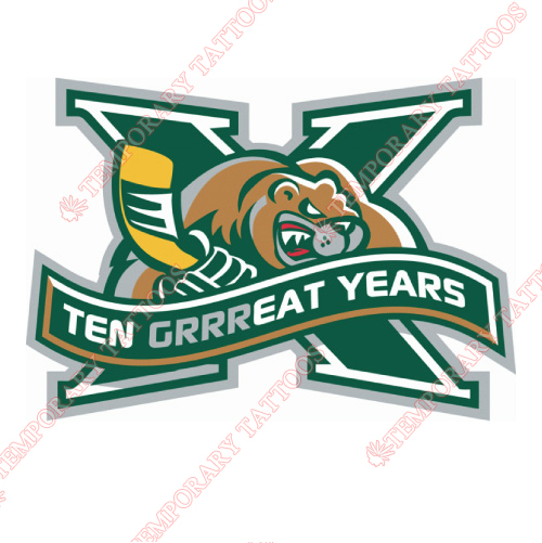 Everett Silvertips Customize Temporary Tattoos Stickers NO.7498