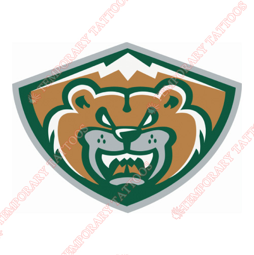 Everett Silvertips Customize Temporary Tattoos Stickers NO.7503