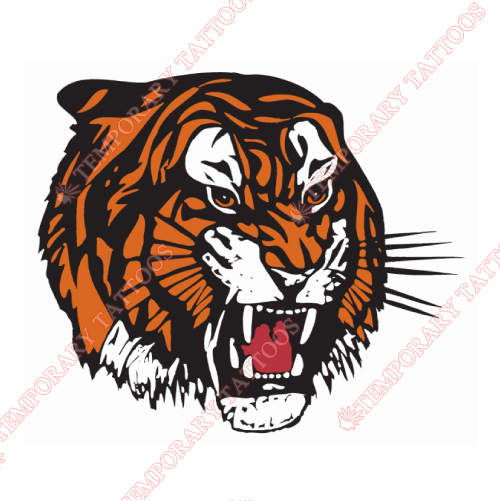 Medicine Hat Tigers Customize Temporary Tattoos Stickers NO.7520