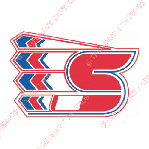 Spokane Chiefs Customize Temporary Tattoos Stickers NO.7548