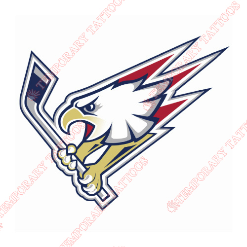 Tri-City Americans Customize Temporary Tattoos Stickers NO.7562