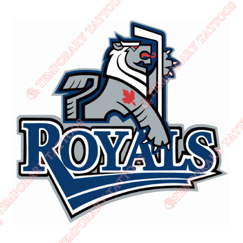 Victoria Royals Customize Temporary Tattoos Stickers NO.7565