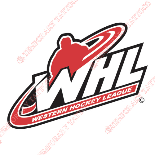 Western Hockey League Customize Temporary Tattoos Stickers NO.7566