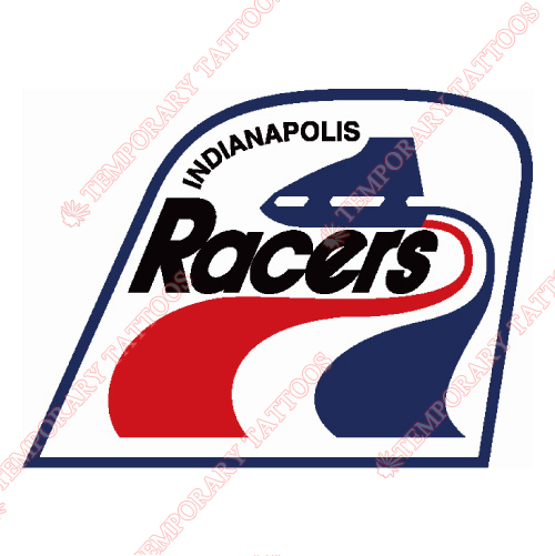 Indianapolis Racers Customize Temporary Tattoos Stickers NO.7114