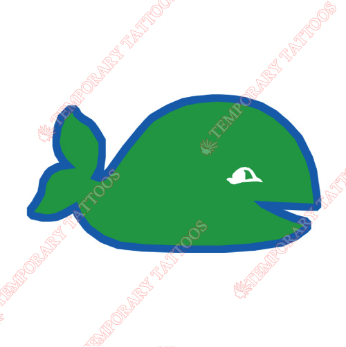 New England Whalers Customize Temporary Tattoos Stickers NO.7120