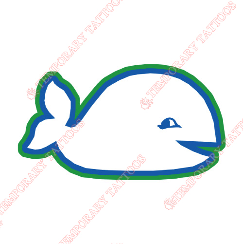 New England Whalers Customize Temporary Tattoos Stickers NO.7124