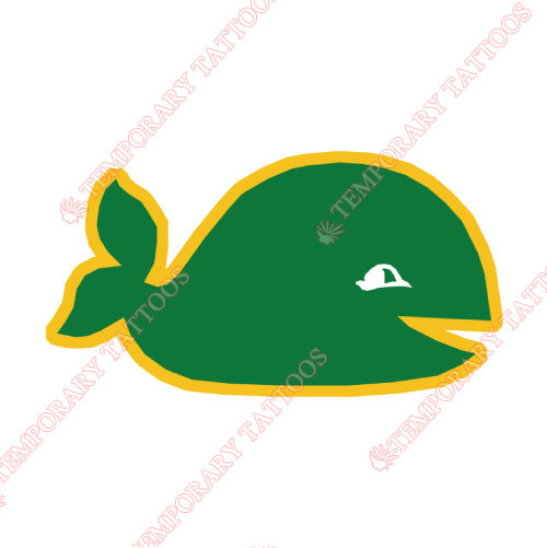 New England Whalers Customize Temporary Tattoos Stickers NO.7127