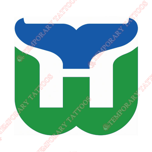 New England Whalers Customize Temporary Tattoos Stickers NO.7134