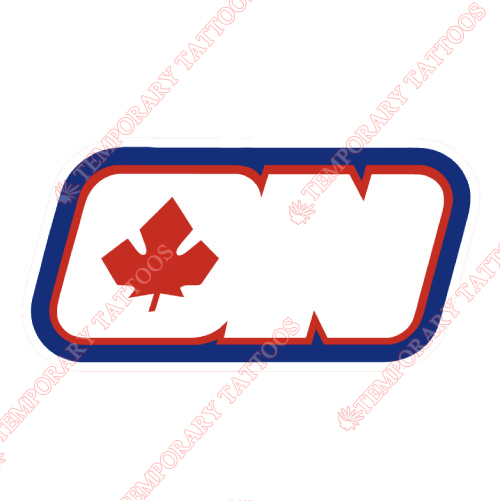 Ottawa Nationals Customize Temporary Tattoos Stickers NO.7139