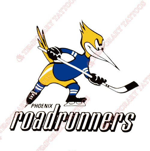 Phoenix Roadrunners Customize Temporary Tattoos Stickers NO.7141