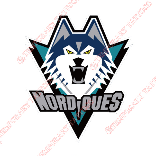 Quebec Nordiques Customize Temporary Tattoos Stickers NO.7145