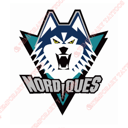 Quebec Nordiques Customize Temporary Tattoos Stickers NO.7151