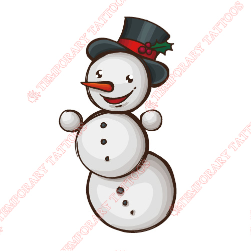 Christmas Customize Temporary Tattoos Stickers NO.3802