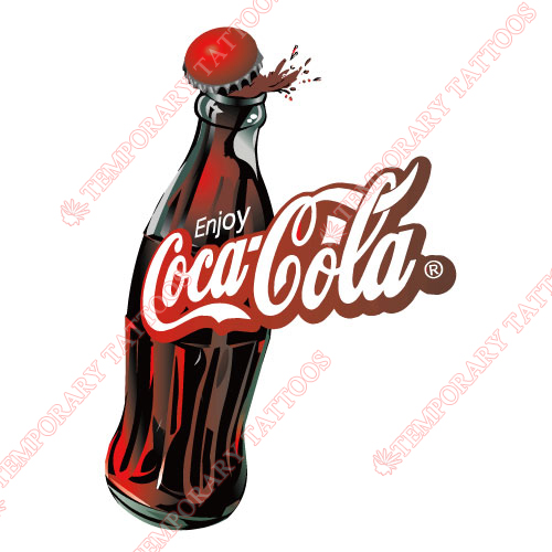 Coca Cola Customize Temporary Tattoos Stickers NO.5537