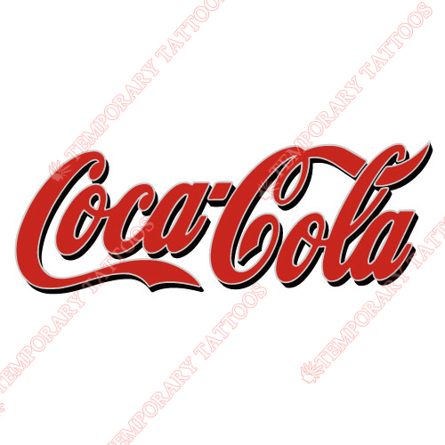 Coca Cola Customize Temporary Tattoos Stickers NO.5538