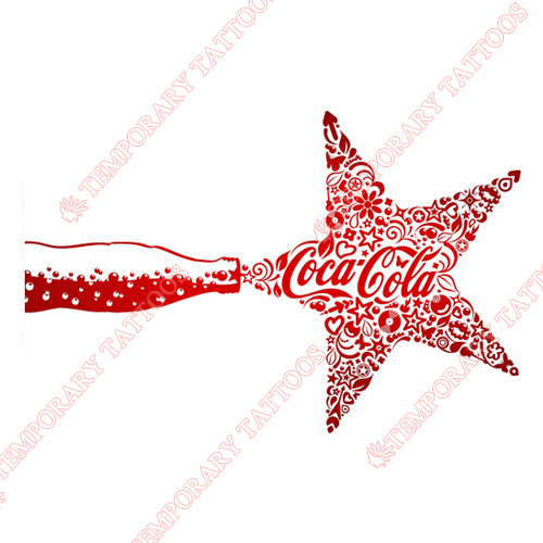 Coca Cola Customize Temporary Tattoos Stickers NO.5549