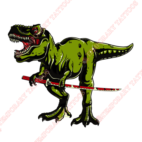 Dinosaur Customize Temporary Tattoos Stickers NO.8759