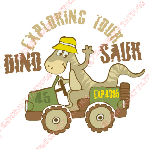 Dinosaur Customize Temporary Tattoos Stickers NO.8760