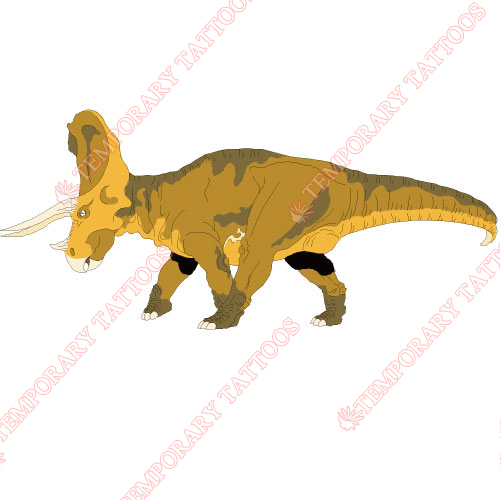 Dinosaur Customize Temporary Tattoos Stickers NO.8765