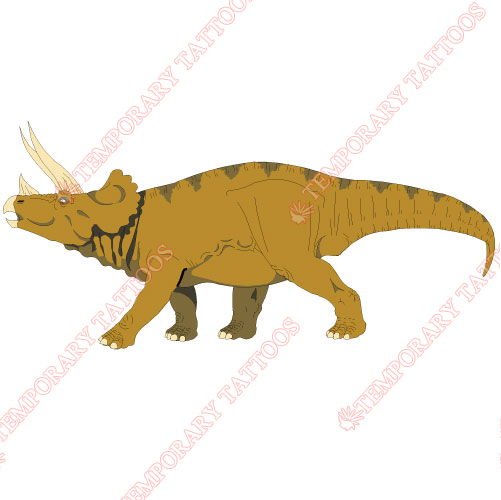 Dinosaur Customize Temporary Tattoos Stickers NO.8766