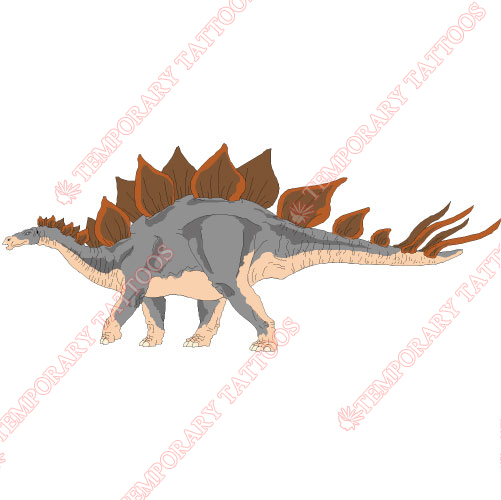 Dinosaur Customize Temporary Tattoos Stickers NO.8775