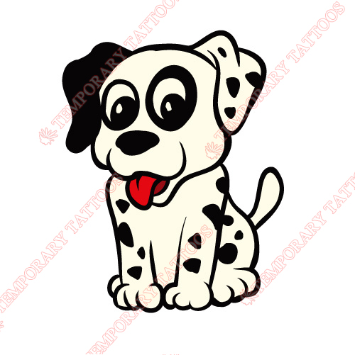 Dogs Customize Temporary Tattoos Stickers NO.8715