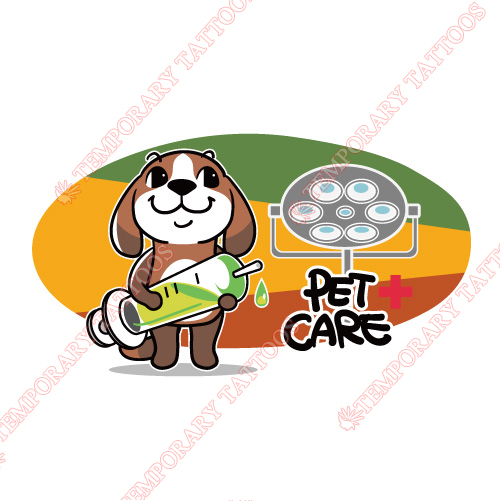 Dogs Customize Temporary Tattoos Stickers NO.8718