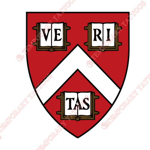Harvard University Customize Temporary Tattoos Stickers NO.3668