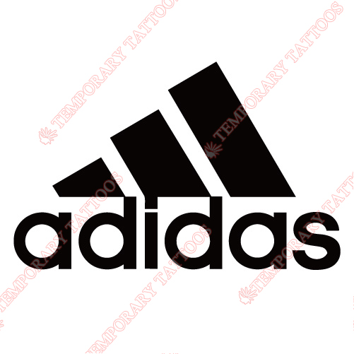 Adidas Customize Temporary Tattoos Stickers NO.2086