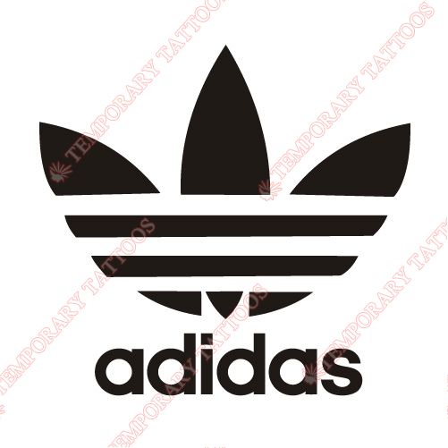 Adidas Customize Temporary Tattoos Stickers NO.2087