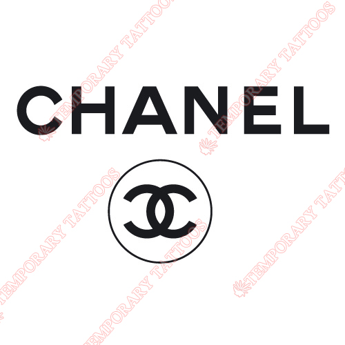 Chanel Customize Temporary Tattoos Stickers NO.2092